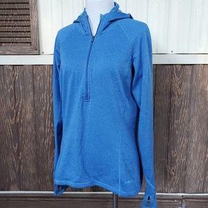 Patagonia waffle fleece baselayer top hoodie L